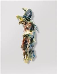 crocifisso (o risto) by lucio fontana