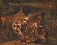 slagsmaal i et bondebryllup by peter nicolai arbo