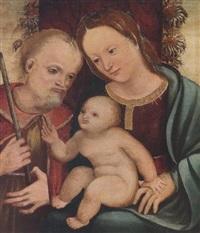 sacra famiglia by antonio alberti (da ferrara)