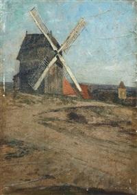 windmühle bei zernikow by max merker