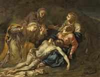 beweinung christi by sir anthony van dyck