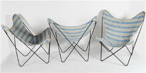 Four Hardoy For Knoll Butterfly Chairs By Jorge Ferrari Hardoy
