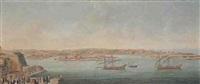 vues du port de la valette à malte et de ses environs by antonio xuered