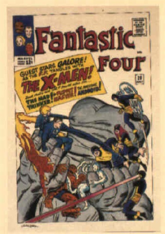 fantastic four no28 by dick ayers