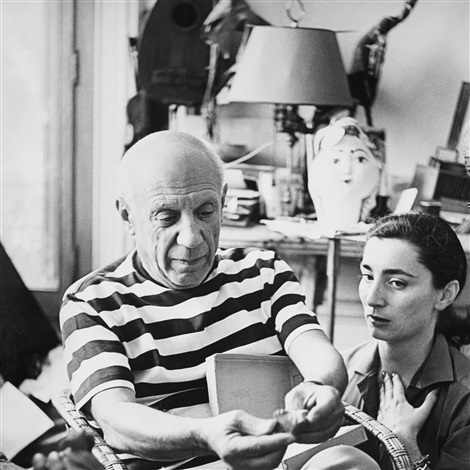 picasso and jacqueline no 30 by andré villers