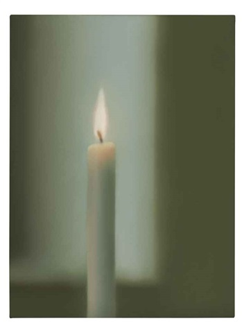 kerze candle by gerhard richter