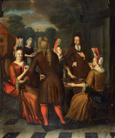 lheure du café by jan josef horemans the younger