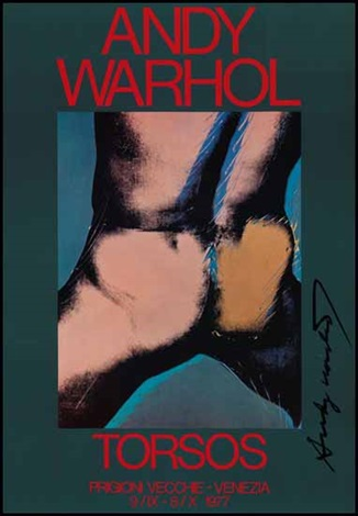 torsos by andy warhol