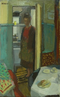 kitchen scene by charles mccall