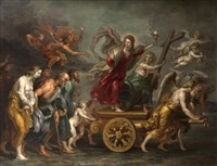 le triomphe de la foi catholique by sir peter paul rubens