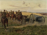the advance to the aisne by william barnes wollen