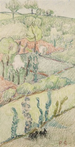 paysage by paul sérusier