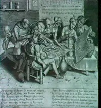the dinner-party, or the song of the gluttons (holl. 32) by h. bösche