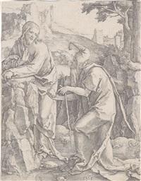 die versuchung christi by lucas van leyden