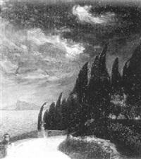 stürmischer abend by friedrich beck