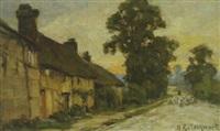 motiv aus limpsfield by harold goldthwaite