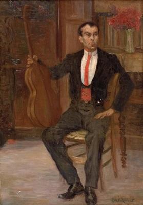 spanischer gitarrist by evelio torent