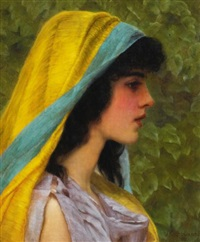 melissa by john william godward