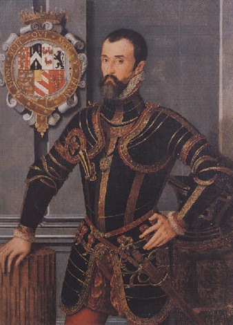 portrait of sir william herbert kg 1st earl of pembroke by steven van der meulen