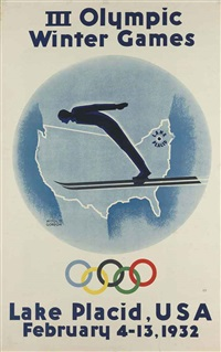 iii olympic winter games, lake placid, usa 1932 by witold gordon