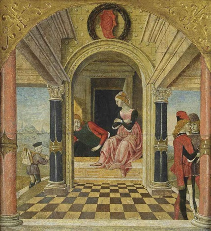 florio in the bedchamber of biancifiore by master of the bentivoglio mandredi panels