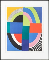 abstraction sphérique by sonia delaunay-terk