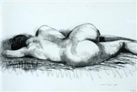 sleeping nude by noel jack counihan