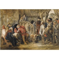 falstaff, henry iv, part ii by sir john gilbert
