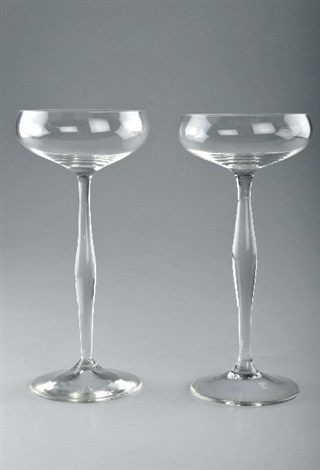 champagnerschalen set of 2 by peter behrens
