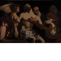 the lamentation by lorenzo lotto