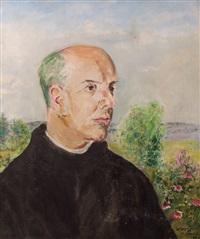 portret proboszcza z kowar, ojca olafa by vlastimil hofmann