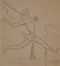 hommage à paris by jean cocteau