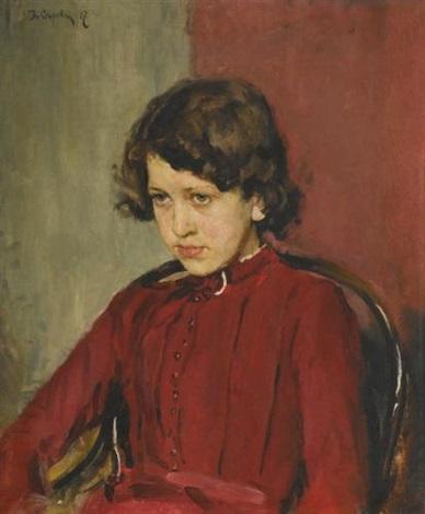portrait of praskovia anatolievna mamontova by valentin aleksandrovich serov