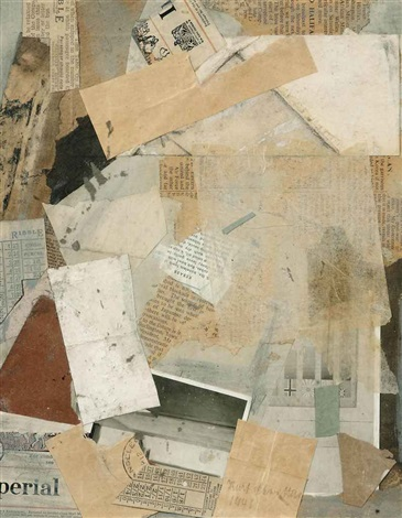 ohne titel perial by kurt schwitters
