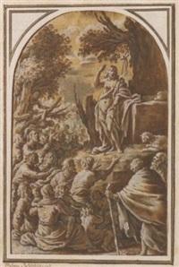 la prédiction de saint jean-baptiste by marcantonio bassetti