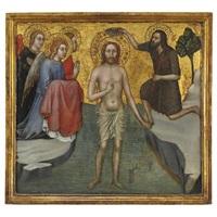 battesimo di cristo by taddeo di bartolo