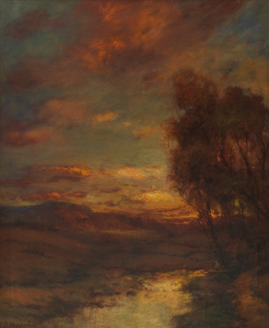 sunset by charles p appel