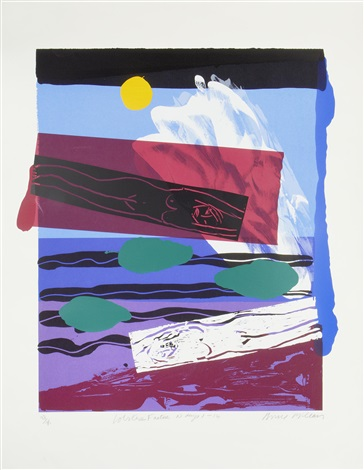 where do you stand (+ lobster factor 10, days 1-14; 2 works) by bruce mclean
