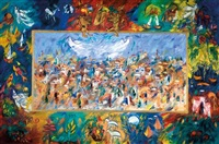 jerusalem and the twelve tribes by ben avram