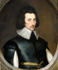 portrait of sir richard weston by cornelius de neve