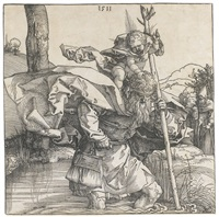 saint christopher by albrecht dürer