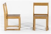 paire de chaises by sven markelius