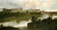 view of windsor castle by hendrick danckerts