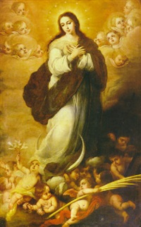 inmaculada by francisco meneses osorio