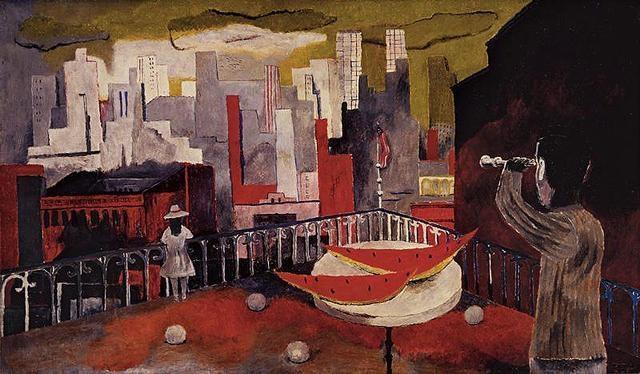 Nueva York Desde La Terraza By Rufino Tamayo On Artnet