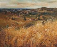 le champs de blé by marcel dyf