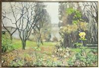 jesienny ogród by lukasz korolkiewicz
