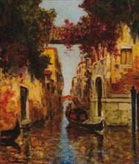 la gondole vénitienne by charles cousin