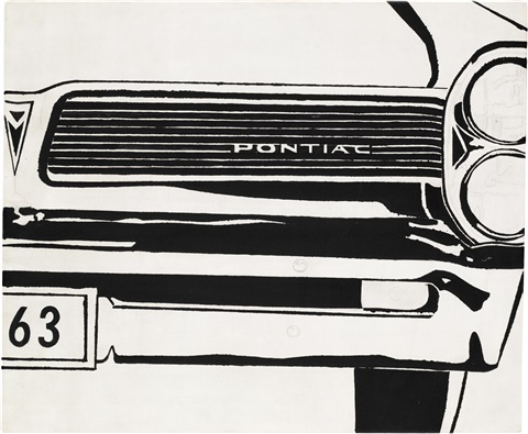 pontiac by andy warhol