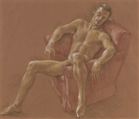 male nude #jhb3 by paul cadmus